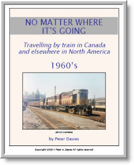 book cover: No Matter Where It's Going: 1960's