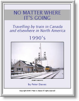 book cover: No Matter Where It's Going: 1990's