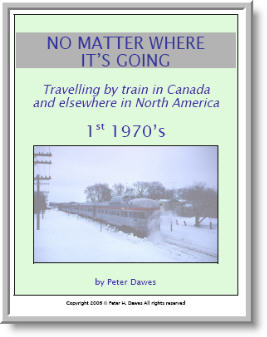 book cover: No Matter Where It's Going: 1st 1970's